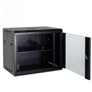 Метален ормар 12U за монтажа на ѕид WS1 600×450 12U