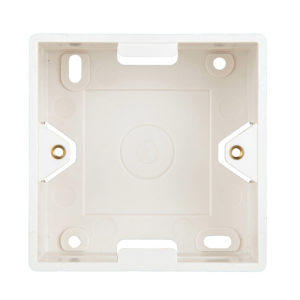 Надградна монтажна кутија Wallmount Box for HSED0xUWxS, HSEDx2UWxF, RAL9010. Schrack