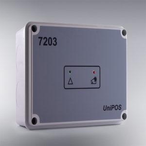 UniPOS FD7203 Модул за влез-излез – 3 влезови / 6 излези