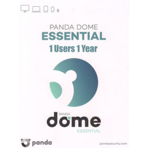 PANDA DOME ESSENTIAL ANTI VIRUS 2020 1 PC DEVICE – 1 YEAR