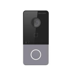 Hikvision DS-KV6113-WPE1 Систем за видео интерком (Надворешна станица) со читач на картички